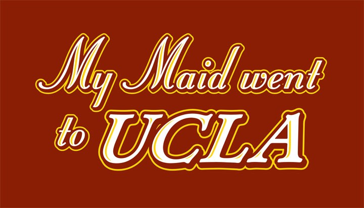 USC-t-shirt-My-Maid-Went-to-UCLA-NCAA-Football-Apparel-Cardinal-Gold