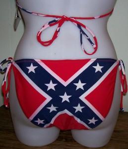 Rebel Flag Bikini: American Flag Bikini - Water Vixen Swim