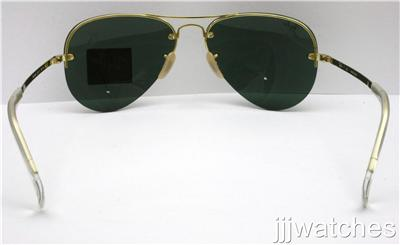 aviator gold sunglasses  aviator semi-rimless