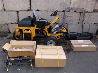 Hustler 1500 mower