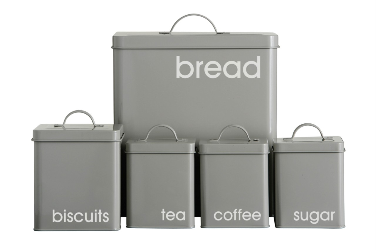 NEW-LUXURY-5-PIECE-ENAMEL-KITCHEN-STORAGE-SET-4-COLOURS