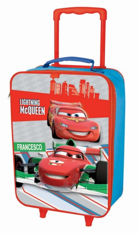 DISNEY-CARS-CHILDRENS-TROLLEY-SUITCASE-HAND-LUGGAGE-BAG
