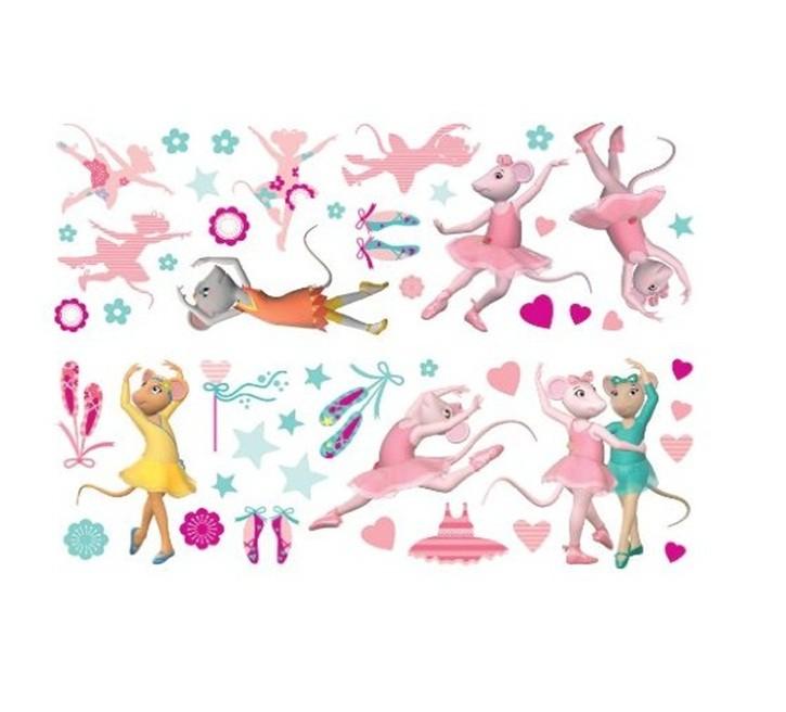 Disney Childrens Kids Bedroom Self Adhesive Wall Stickers Character Stikarounds Ebay