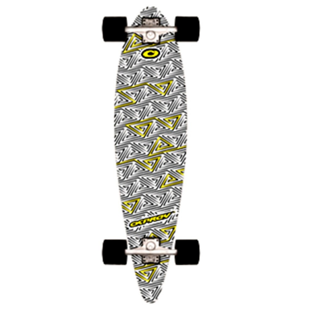 OSPREY-LONGBOARD-CRUISER-LONG-SKATE-BOARD-SKATEBOARD-BEACH-TRUCKS-DECK-WHEELS