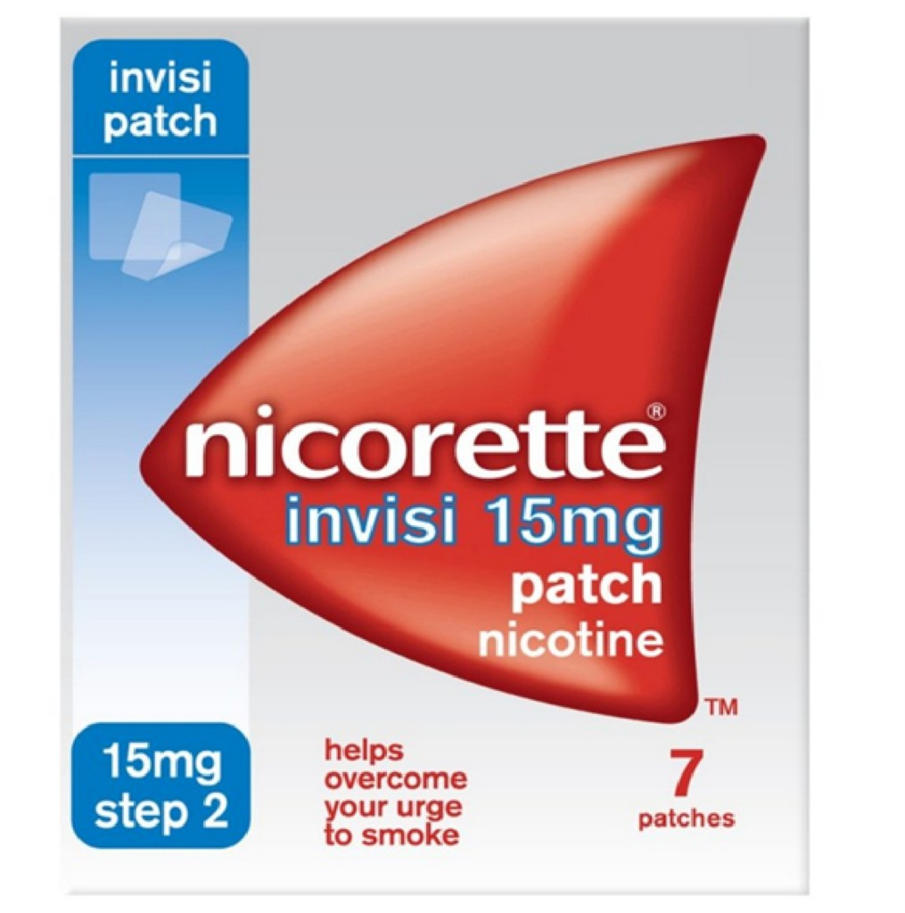 NICORETTE-INVISI-15MG-7-PATCHES-NICOTINE-STOP-QUIT-SMOKING-STEP-2