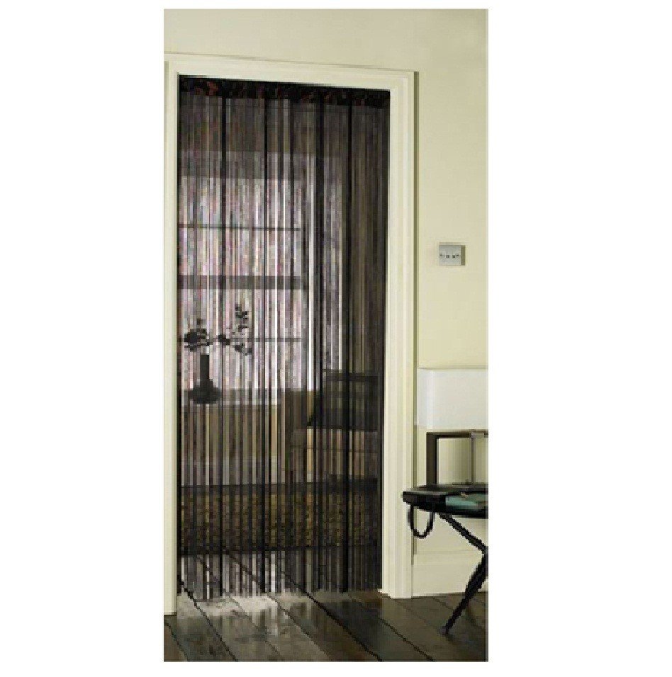 rideaux corde pour portes fen tres diviseur moustiquaire porte chambre filet ebay. Black Bedroom Furniture Sets. Home Design Ideas