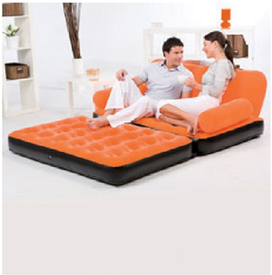 Bestway Inflatable Multi Functional Airbed Chair Sofa Couch Tv Camping Mattress Ebay