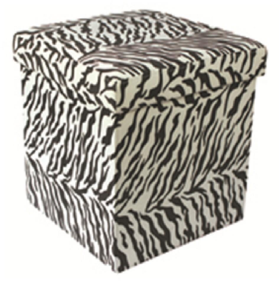 JUNGLE-ANIMAL-PRINT-FOLDING-STORAGE-POUFFE-FOOT-REST-STOOL-OTTOMAN-TOY-BOX-SEAT