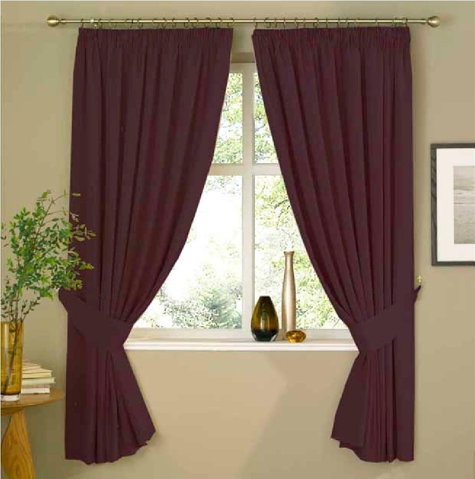 Eleanor James Artisan Aubergine Purple Plum Lined Ready Made Curtain Set Bedroom Ebay