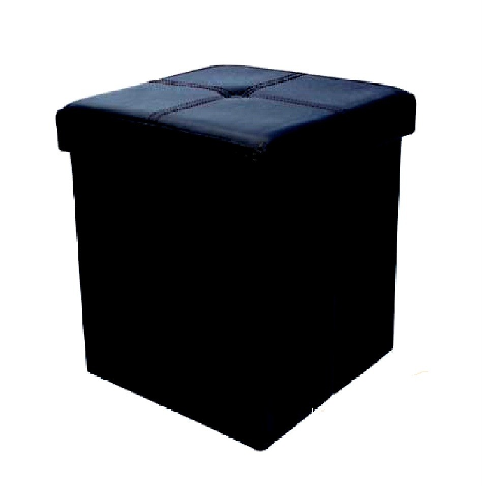BUTTON-STYLE-PVC-FOLDING-STORAGE-POUFFE-FOOTREST-STOOL-OTTOMAN-TOY-BOX-SEAT