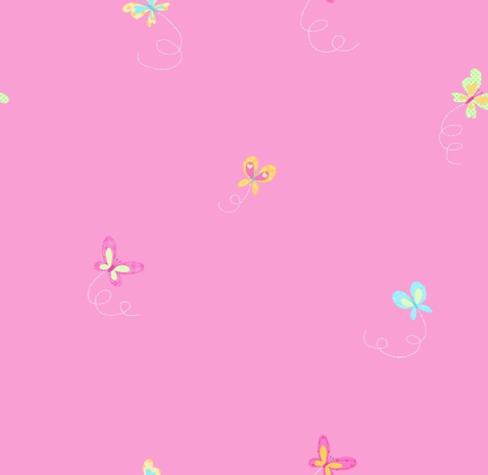 Hoopla Butterfly Butterflies Kids Childrens Bedroom 10m Wallpaper Roll Decor Art