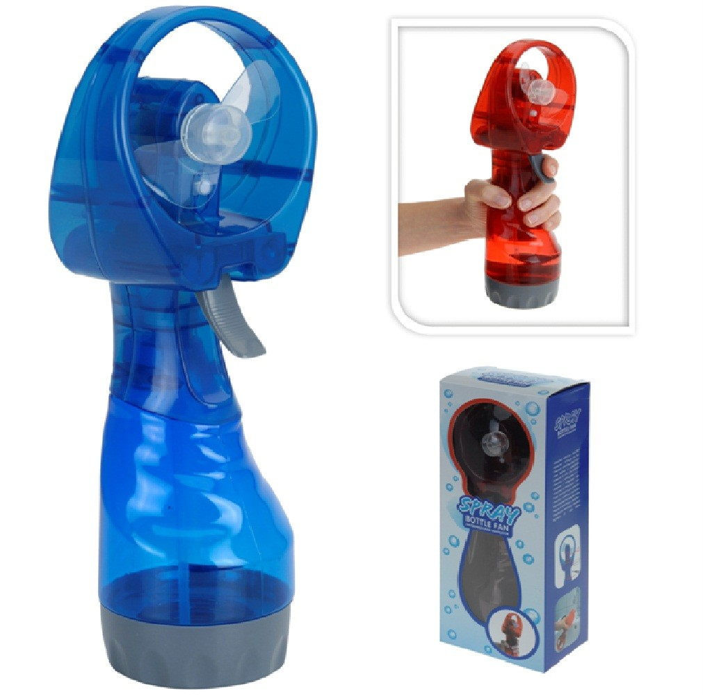 Portable Hand Fan : New portable hand held battery power fan air water mist