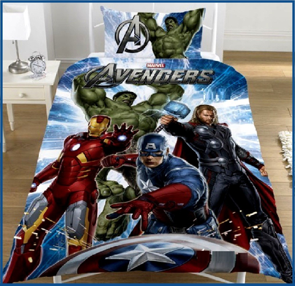 Avengers bedroom set
