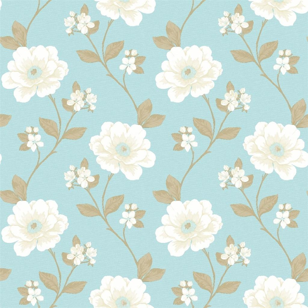 wallpaper vintage flowers cream - photo #8