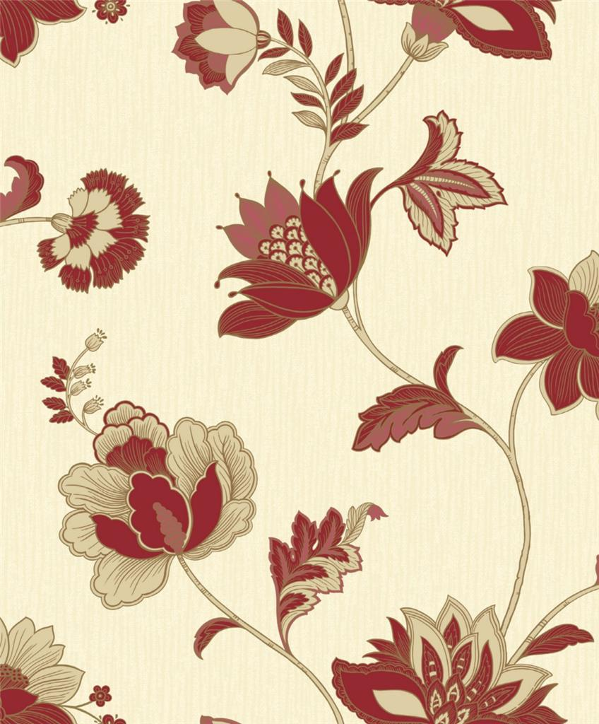 Ideco Luxury Jacobean Rich Colour Floral Flower Leaf Blown HD Wallpapers Download Free Images Wallpaper [1000image.com]