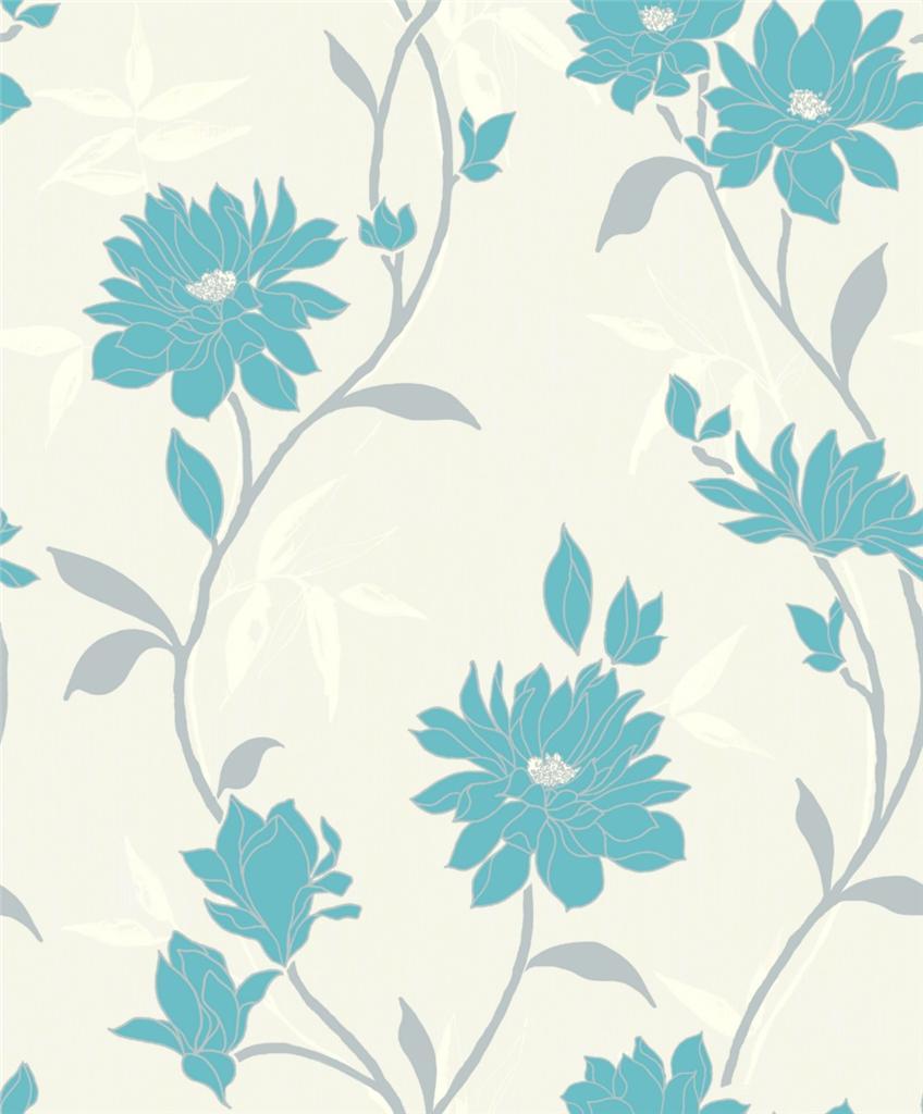 IDECO LUXURY ELEGANZA RICH TEXTURE FLORAL FLOWER LEAF
