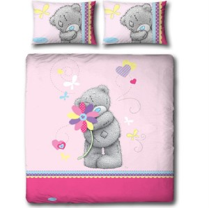 me to you tatty teddy bear daisy double panel duvet set. Black Bedroom Furniture Sets. Home Design Ideas