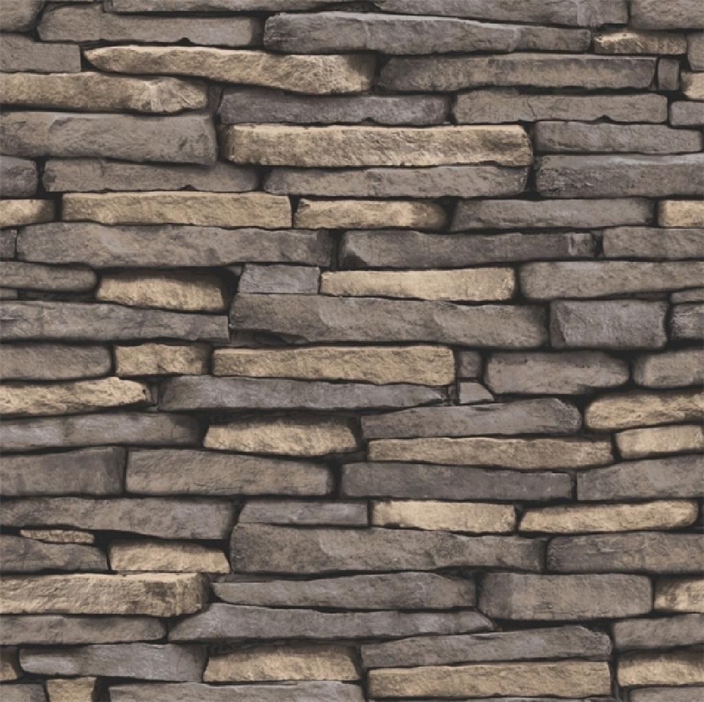 New luxury distinctive brick wall stone rock slate effect for Brick wallpaper sale