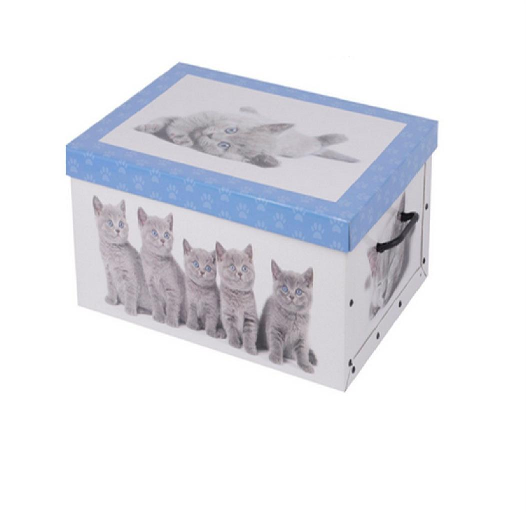 Decorative Empty Boxes : Italian decorative cardboard storage box bedroom underbed