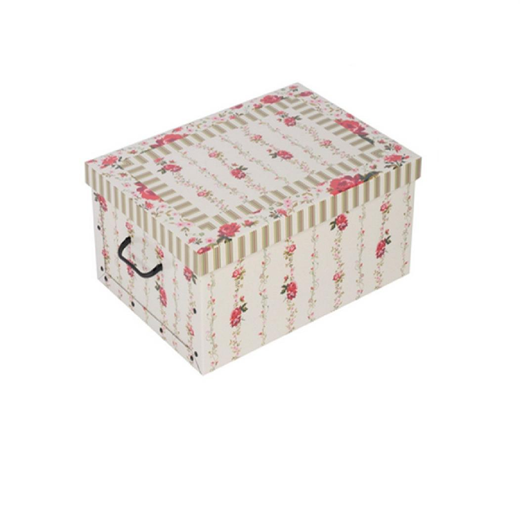 Decorative Storage Boxes Uk : Italian decorative cardboard storage box bedroom underbed