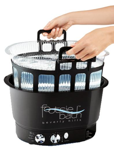Spa and Disposable Liner System Footsie Bath Foot Spa Nails