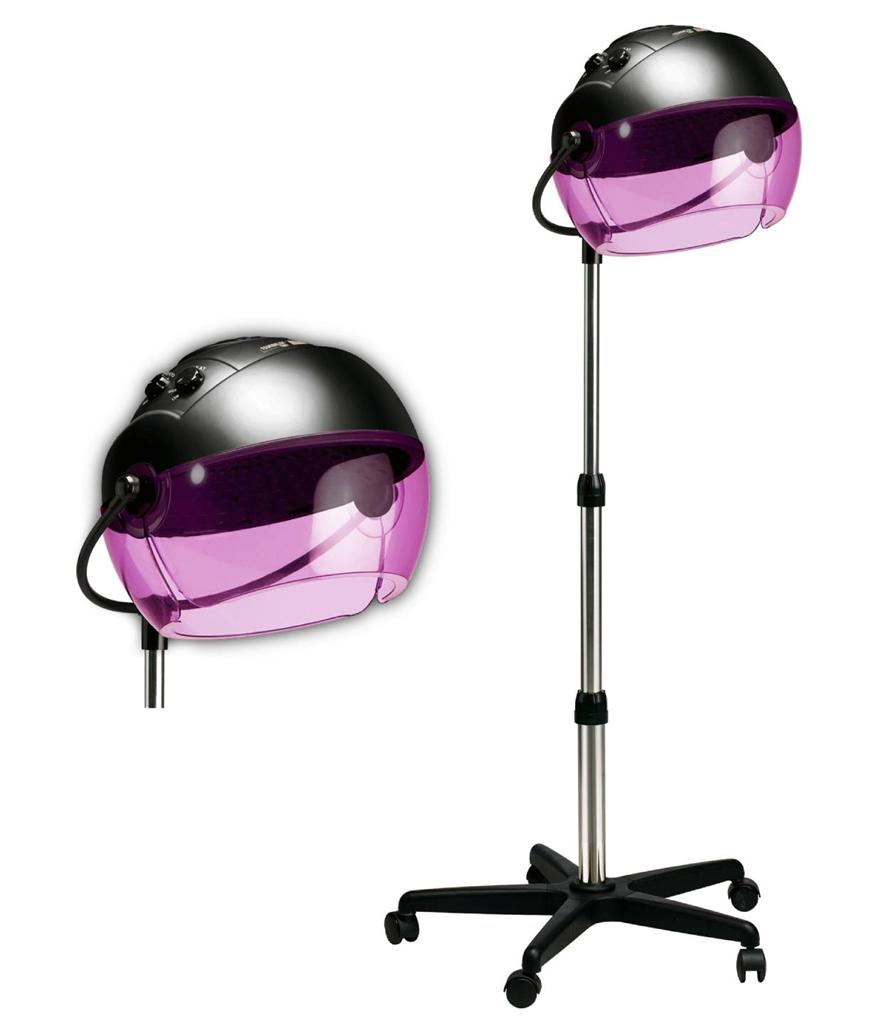 Hair Dryer Hood ~ Hot tools portable rolling salon hair dryer