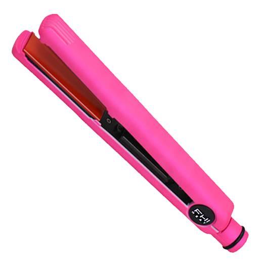 Technique g3 original 1 quot tourmaline ceramic hair flat iron chroma pink
