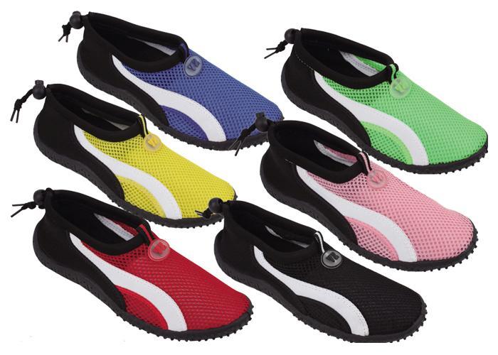Womens-Slip-On-Water-Shoes-Aqua-Socks-Pool-Beach-Yoga-Exercise-Dance