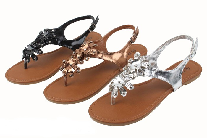 With a wide selection of women's sandals available, you'll be sure to find a design or size that fits comfortably and securely. For a great combination of comfort and style, try a platform sandal, which combines the relaxing fit of a women's flip flop with the height of a wedge.