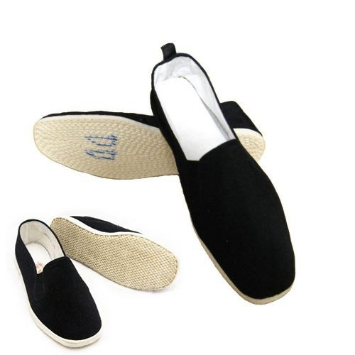 Men-Chinese-Martial-Art-Kung-Fu-Ninja-Shoes-Slip-On-Cotton-Sole-Canvas