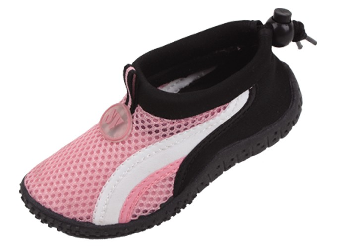 Speedo Toddler Boys Hybrid Water Shoes Grey & Orange Small