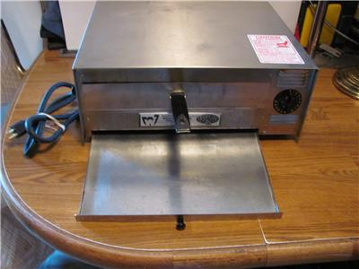 WISCO COUNTERTOP COMMERCIAL PIZZA OVEN- MODEL 412-5NCT-VERY GOOD USED ...