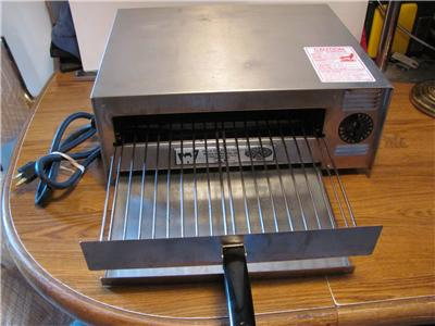 Used Commercial Countertop Pizza Oven : WISCO COUNTERTOP COMMERCIAL PIZZA OVEN- MODEL 412-5NCT-VERY GOOD USED ...