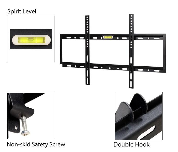 Slim Lcd Led 32 60 Inch Plasma Flat Tv Wall Mount Bracket