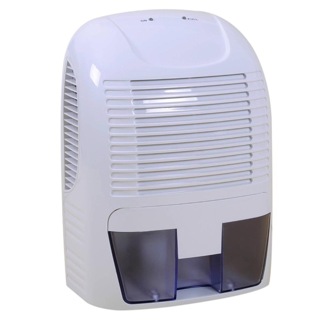 Mini Air Dehumidifier 2000ml 2L Portable Home Bathroom Garage Car Damp  #535378