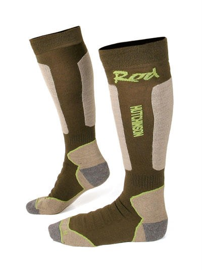 Rod hutchinson performance socks walking fishing winter for Fishing rod socks
