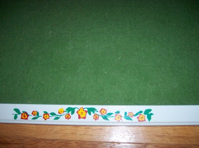 Vintage felt bulletin board home office school 18 x 24 for Old home bulletin board