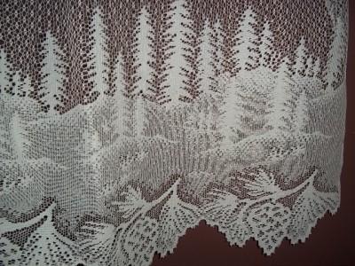 28 pinecone lace curtains 30 quot h x 60 quot l pinecone la