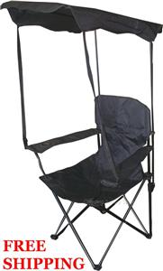 2 Folding Canopy Chair Camping Beach Outdoor Camp Shade EBay