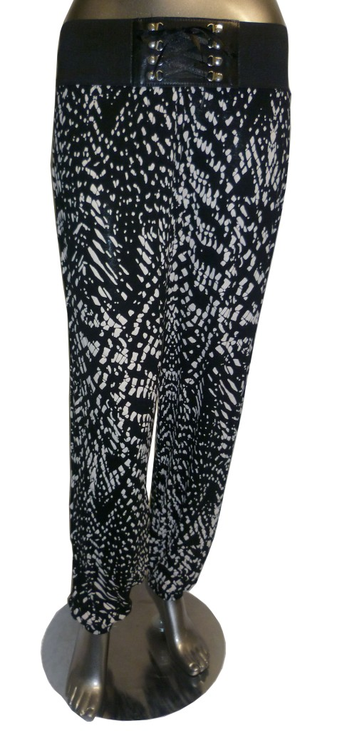 New Ladies Women Tribal Print Alibaba Harem Pants Leggings UK Size 8 to 14