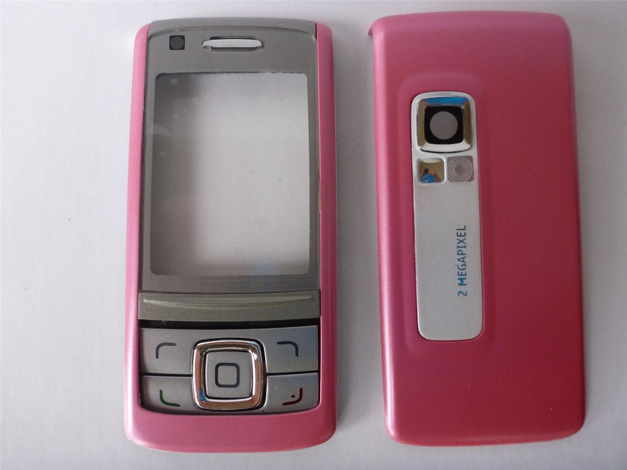 Cover-Housing-Replacement-Case-For-Nokia-6280-Pink