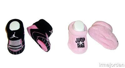 Infant Girl Shoes on Baby Girls Jordan Shoes Style Booties Socks Sz 0