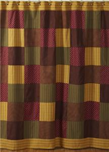 WINE BURGUNDY OLIVE AND GOLD SHOWER CURTAIN 100 COTTON EBay