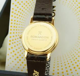 Romanson Watches Gold