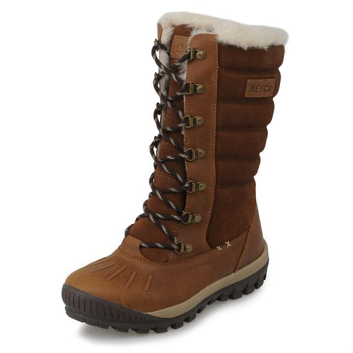 bnib new nevica vail snow boots uk 4 5 7 leather fur