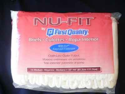 Nu fit adult brief medium