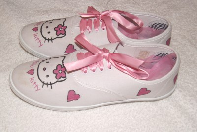 from Tatum hello kitty adult shoes