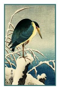 Ohara Shoson Koson Nightingale Birds Cherry Blossom Counted Cross Stitch Pattern