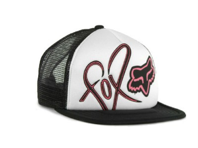 authentic licensed fox racing womens snapback trucker hat
