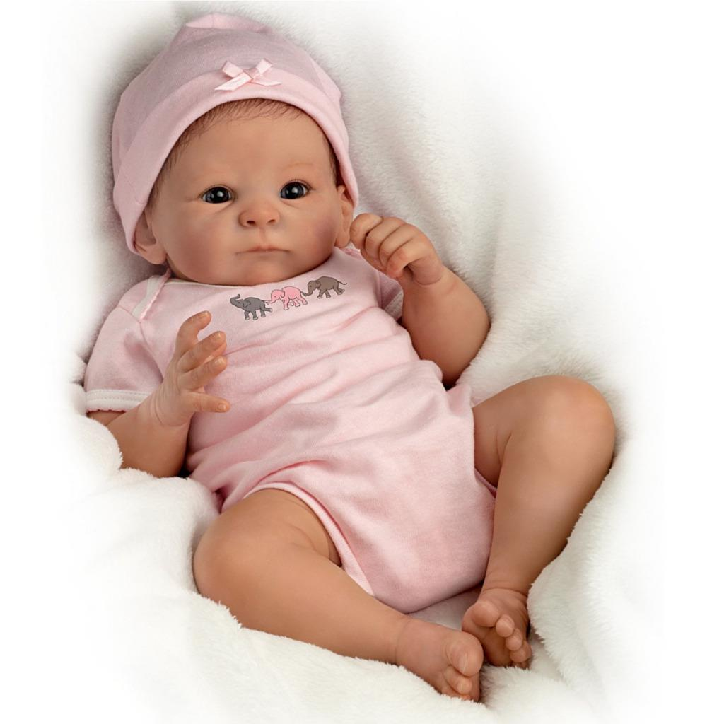 Ashton drake little peanut baby doll by tasha edenholm ebay for The ashton
